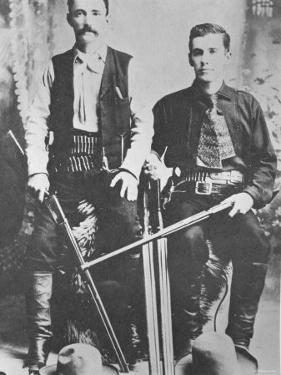 Wells Fargo Stagecoach Messengers Armed with Shotguns and Winchester Repeating Rifles