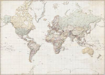 world maps posters at. Black Bedroom Furniture Sets. Home Design Ideas