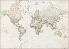 Affordable world maps posters for sale at allposters weltkarte deutsch gumiabroncs Images