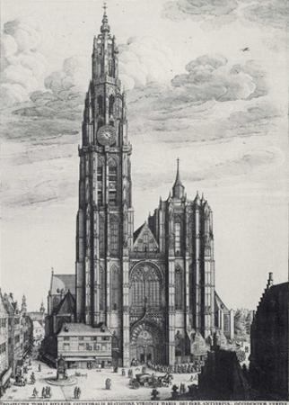 Wenceslas Hollar (Antwerp, Cathedral of Notre-Dame) Art Poster Print