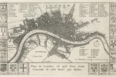 London, before the Fire in 1666