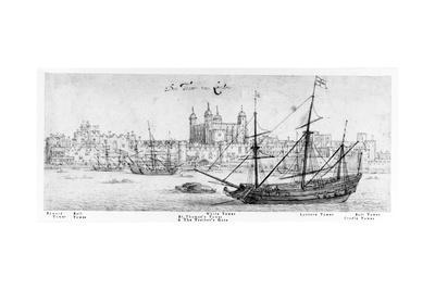 The Tower of London, C.1637-41