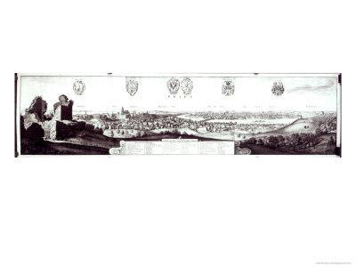 View of Prague, 1649