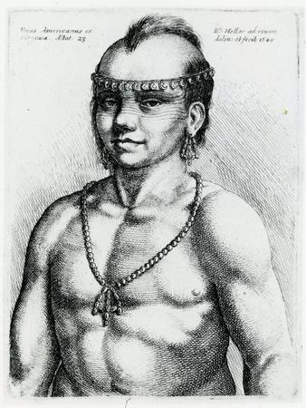 Virginian Indian, 1645