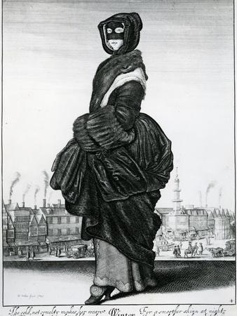 Winter, 1643 (Etching)
