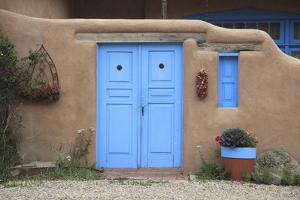 Adobe Architecture, Taos, New Mexico, United States of America, North America by Wendy