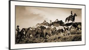 Gathering the Herd by Wendy Caro