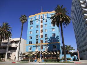 Art Deco, Georgian Hotel, Ocean Avenue, Santa Monica, California by Wendy Connett