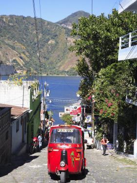 Auto Rickshaw, San Pedro, San Pedro La Laguna, Lake Atitlan, Guatemala, Central America by Wendy Connett