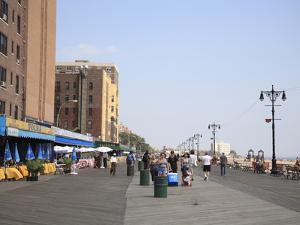 Brighton Beach Boardwalk, Little Russia, Brooklyn, New York City by Wendy Connett