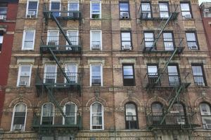 Buildings Featured on Cover of Led Zeppelin Album Physical Graffiti, St. Marks Place, East Village by Wendy Connett