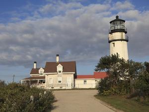 Cape Cod Highland Lighthouse, Highland Light, Cape Cod, North Truro, Massachusetts, New England, Un by Wendy Connett