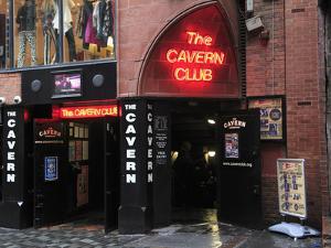 Cavern Club, Mathew Street, Liverpool, Merseyside, England, United Kingdom, Europe by Wendy Connett