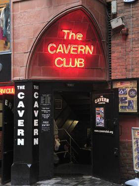 Cavern Club, Mathew Street, Liverpool, Merseyside, England, United Kingdom, Europe by Wendy Connett
