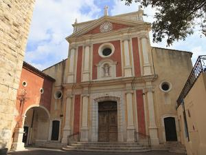 Church of the Immaculate Conception, Old Town, Vieil Antibes, Antibes, Cote D'Azur, French Riviera, by Wendy Connett