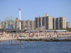 Coney Island, Brooklyn, New York City, United States of America, North America by Wendy Connett