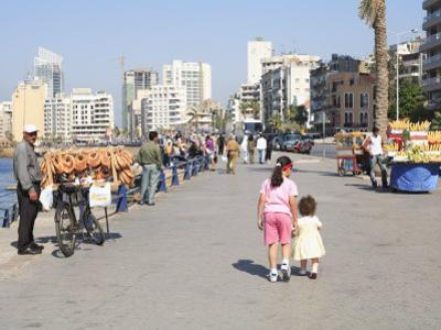 Corniche, Beirut, Lebanon, Middle East by Wendy Connett