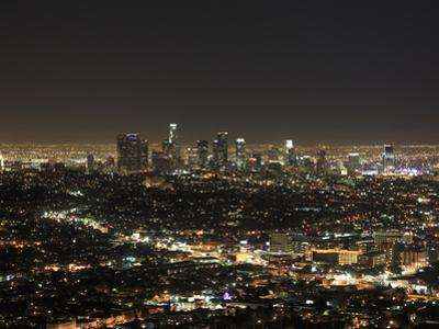 Downtown, Hollywood at Night, Los Angeles, California, United States of America, North America by Wendy Connett