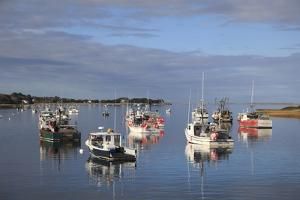 Fishing Boats, Harbor, Chatham, Cape Cod, Massachusetts, New England, Usa by Wendy Connett