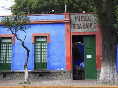 Frida Kahlo Museum, Coyoacan, Mexico City, Mexico, North America by Wendy Connett