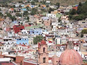 Guanajuato, Guanajuato State, Mexico, North America by Wendy Connett