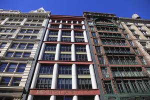 Historic Loft Architecture, Soho, Manhattan, New York City, United States of America, North America by Wendy Connett