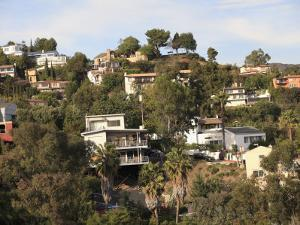 Hollywood Hills, Los Angeles, California, United States of America, North America by Wendy Connett