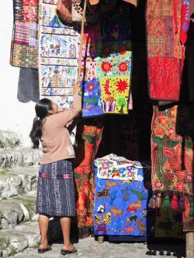 Market, Chichicastenango, Guatemala, Central America by Wendy Connett