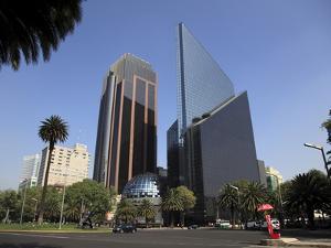 Mexican Stock Exchange Building, Centro Bursatil, Paseo De La Reforma, Reforma, Mexico City, Mexico by Wendy Connett