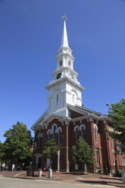 North Church, Portsmouth, New Hampshire, New England, United States of America, North America by Wendy Connett