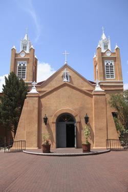 San Felipe De Neri Church, Old Town, Albuquerque, New Mexico, Usa by Wendy Connett