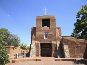 San Miguel Mission Church, Oldest Church in the United States, Santa Fe, New Mexico by Wendy Connett