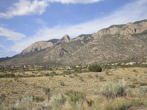 Sandia Mountains, Albuquerque, New Mexico, United States of America, North America by Wendy Connett