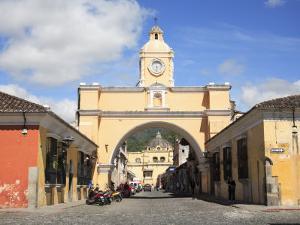 Santa Catarina Arch, Antigua, UNESCO World Heritage Site, Guatemala, Central America by Wendy Connett