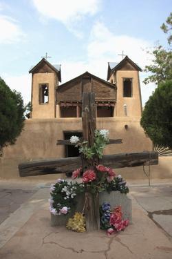 Santuario De Chimayo, Lourdes of America, Church by Wendy Connett