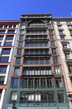 Singer Building, Broadway, Soho, Manhattan, New York City, United States of America, North America by Wendy Connett