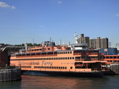 Staten Island Ferry, New York City, United States of America, North America by Wendy Connett