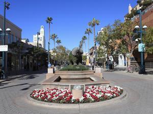 Third Street Promenade, Santa Monica, Los Angeles, California, USA, North America by Wendy Connett