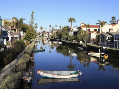Venice Canals, Venice Beach, Los Angeles, California, United States of America, North America by Wendy Connett