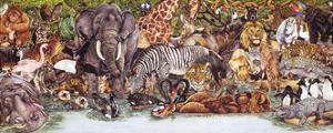 Large Group of Animals by Wendy Edelson
