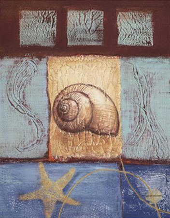 Aquamarine Snail by Wendy Russell