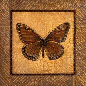 Crackled Butterfly - Monarch by Wendy Russell