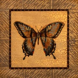 Crackled Butterfly - Swallowtail by Wendy Russell