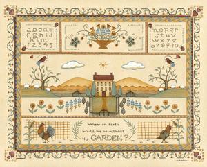 Garden Sampler I by Wendy Russell