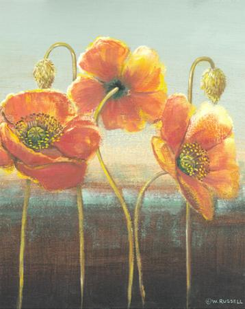 Poppy Tops II by Wendy Russell