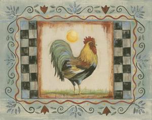 Proud Rooster I by Wendy Russell