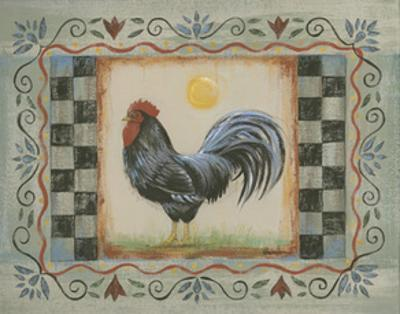 Proud Rooster II by Wendy Russell