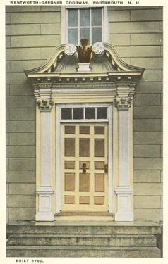 Wentworth-Gardner Doorway, Portsmouth, New Hampshire