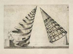 Illustration Of Sculpture by Wenzel Jamnitzer