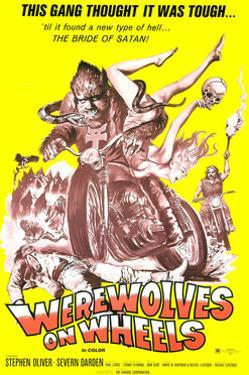 Werewolves On Wheels, 1971